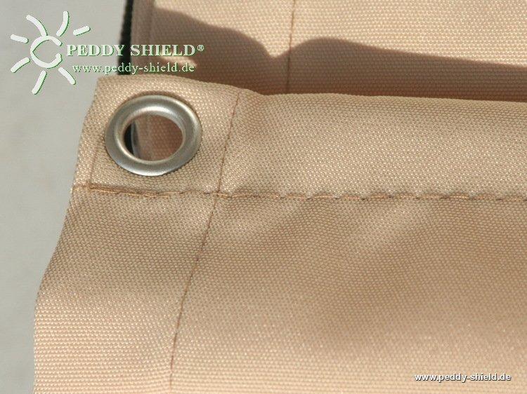 Sichtschutz Terrasse : B75 x L300 cm Farbe uni sisal – Sichtschutz ...