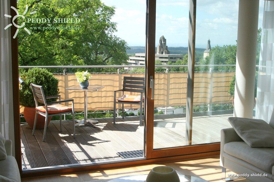 balkonverkleidung b75 x l500 cm farbe sisal sichtschutz f r balkon und terrasse. Black Bedroom Furniture Sets. Home Design Ideas