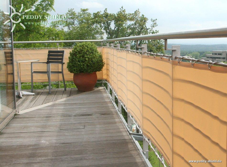 fotogalerie balkonverkleidung b90 x l300 cm farbe sisal sichtschutz balkon und terrasse. Black Bedroom Furniture Sets. Home Design Ideas