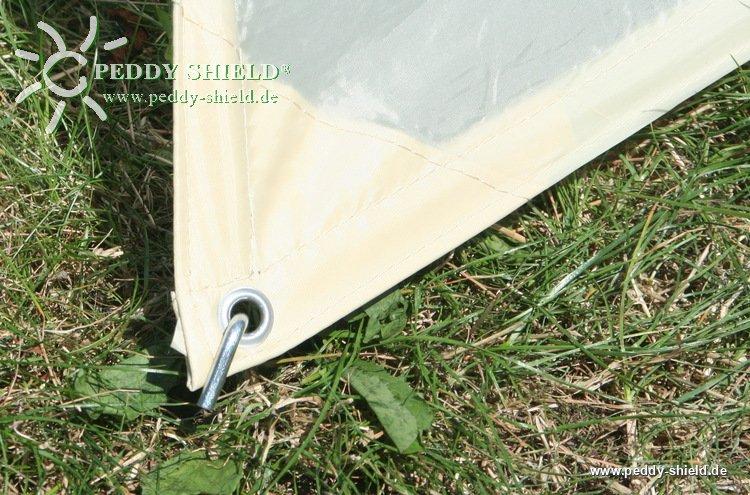 camping freizeit sonnensegel 2 2 5 x 3 m sandfarben. Black Bedroom Furniture Sets. Home Design Ideas