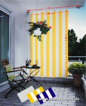 sichtschutz balkon sonnensegel. Black Bedroom Furniture Sets. Home Design Ideas